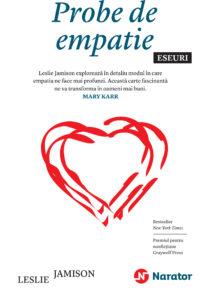 coperta Probe de empatie_Narator