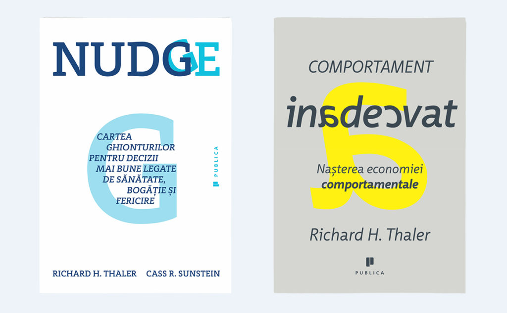 nudge, comportament inadecvat, nobel economie 2017, economie comportamentala, behavioral economics
