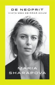 maria sharapova, biografie tenis, victoria books, unstoppable